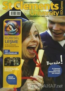 St Clements University Dergisi Eylül Kasım 2014