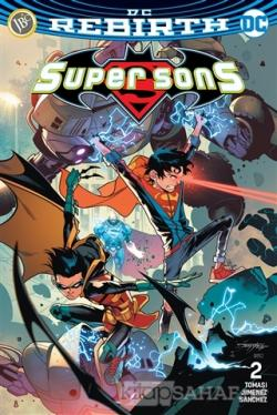Super Sons Sayı 2 (DC Rebirth)