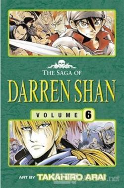 The Vampire Prince - The Saga of Darren Shan 6 (Manga Edition)