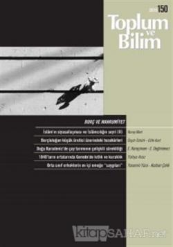 Toplum ve Bilim Dergisi Sayı: 150