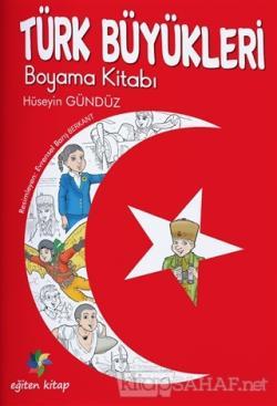 Türk Büyükleri Boyama Kitabı Hüseyin Gündüz Yeni Ve Ikinci El Ucuz