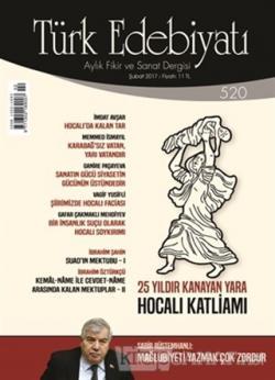 Türk Edebiyatı Dergisi Sayı : 520 Şubat 2017