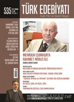Türk Edebiyatı Dergisi Sayı : 535 Mayıs 2018