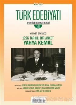 Türk Edebiyatı Dergisi Sayı: 546 Nisan 2019