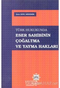 Türk Hukukunda Eser Sahibinin Çoğaltma ve Yayma Hakları