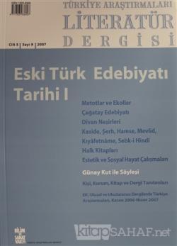 Türkiye Araştırmaları Literatür Dergisi Cilt 5 Sayı: 9