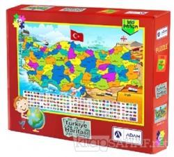 Türkiye Haritası 120 Parça Puzzle