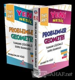 TYT AYT Yeni Nesil Problemler ve Geometri Soru Bankası (İki Ders Tek Kitap)