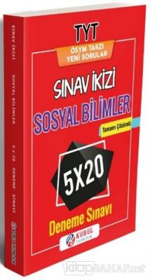 TYT Sosyal Bilimler Sınav ikizi Tamamı Çözümlü 5x20 Deneme Sınavı