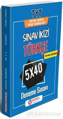 TYT Türkçe Sınav ikizi Tamamı Çözümlü 5x40 Deneme Sınavı