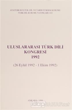 Uluslararası Türk Dili Kongresi 1992