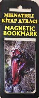 Klasik Araba Kitap Ayracı Mıknatıslı 8x5cm
