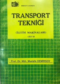 TRANSPORT TEKNİĞİ CİLT 2