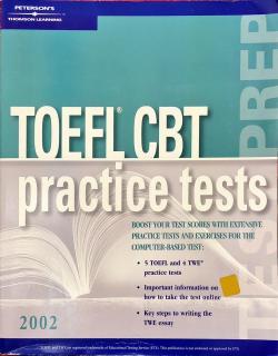 TOEFL CBT PRACTİCE TESTS