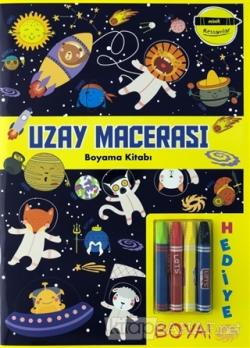 Uzay Macerası Boyama Kitabı - Minik Ressamlar