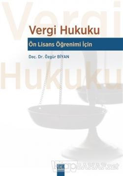 Vergi Hukuku - Ön Lisans Öğrenimi İçin