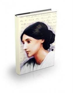 Virginia Woolf Sert Kapaklı Defter