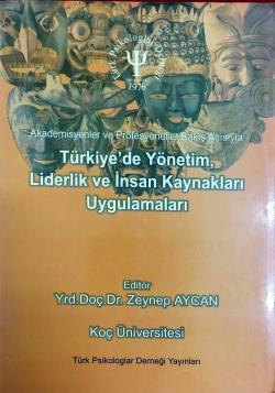Türkiye'de Yönetim, Liderlik ve İnsan Kaynakları Uygulamaları