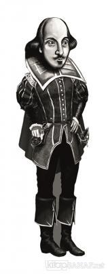William Shakespeare (Karikatür) - Ayraç
