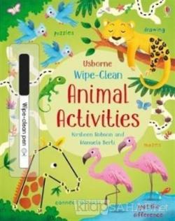 Wipe-Clean Animal Activities