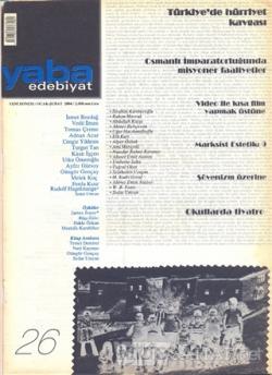 Yaba Edebiyat Dergisi Sayı: 26