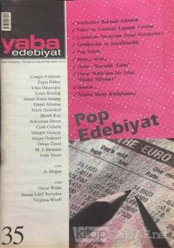 Yaba Edebiyat Dergisi Sayı: 35
