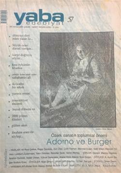 Yaba Edebiyat Dergisi Sayı: 57