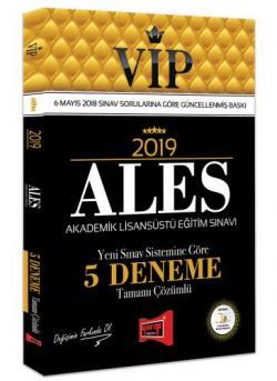 Yargı VIP ALES Tamamı Çözümlü 5 Deneme 2019 Yeni