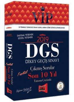 Yargı VIP DGS Çıkmış Sorular Son 10 Yıl Tamamı Çözümlü 2019 Yeni