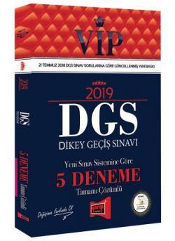 Yargı VIP DGS 5 Deneme Tamamı Çözümlü 2019 Yeni