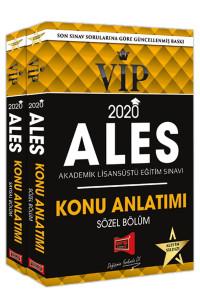 2020 ALES VIP Sayısal-Sözel Bölüm Konu Anlatımı 2 Cilt