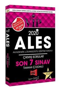 2020 ALES VIP Tamamı Çözümlü Son 7 Sınav Çıkmış Sorular