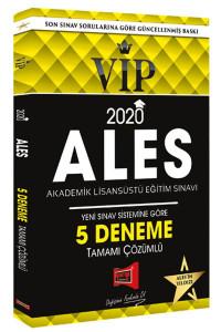 2020 ALES VIP Yeni Sınav Sistemine Göre Tamamı Çözümlü 5 Deneme