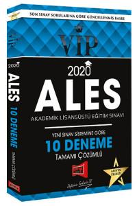 2020 ALES VIP Yeni Sınav Sistemine Göre Tamamı Çözümlü 10 Fasikül Deneme