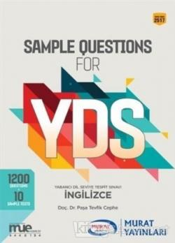 YDS Sample Questions For (2517)