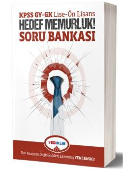 KPSS GY-GK LİSE-ÖNLİSANS HEDEF MEMURLUK SORU BANKASI