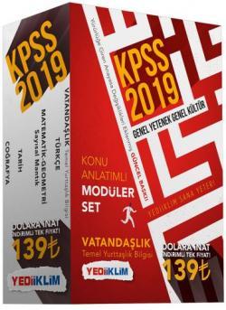 2019 GY-GK KONU ANLATIMLI MODÜLER SET