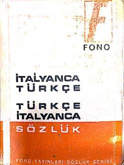 İtalyanca Türkçe Türkçe İtalyanca Sözlük 1963 Basım