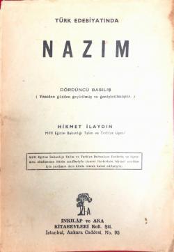 Türk Edebiyatında Nazım (Dördüncü Basılış)