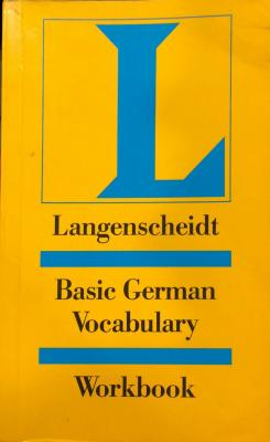 Langenscheidt Basic German Vocabulary Workbook