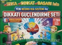 Yeni Neuro-Via Sistemi ile Dikkati Güçlendirme Seti 11 Yaş (3 Kitap)