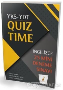 YKS-YDT İngilizce Quiz Time 25 Mini Deneme Sınavı