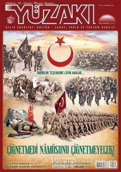 Yüzakı Aylık Edebiyat, Kültür - Sanat, Tarih ve Toplum Dergisi Sayı: 181 Mart 2020