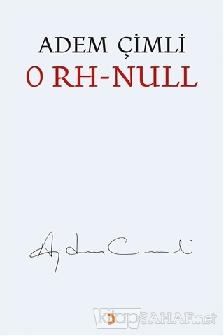 0 RH - Null - Adem Çimli | Yeni ve İkinci El Ucuz Kitabın Adresi