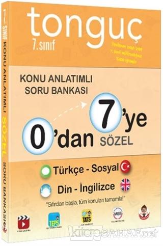 0'dan 7'ye Sözel Konu Anlatımlı Soru Bankası - Tonguç Komisyon | Yeni