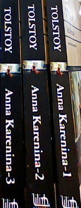 ANNA KARENINA 3 CİLT TAKIM - TOLSTOY | Yeni ve İkinci El Ucuz Kitabın