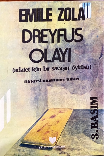 DREYFUS OLAYI - EMILE ZOLA | Yeni ve İkinci El Ucuz Kitabın Adresi