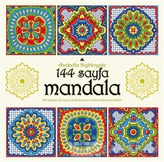 144 Sayfa Mandala - Anabella Nightingale | Yeni ve İkinci El Ucuz Kita