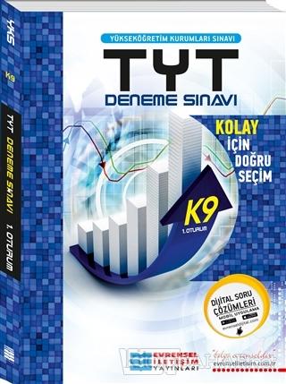2018 TYT K9 1. Oturum Başlangıç Seviye Video Çözümlü Deneme Sınavı - K