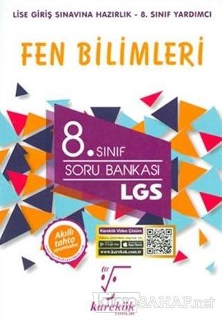 2019 8. Sınıf LGS Fen Bilimleri Soru Bankası - KOLLEKTİF   Yeni ve İki